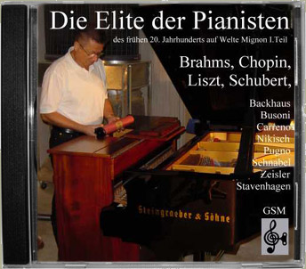 Die Elite der Pianisten - CD